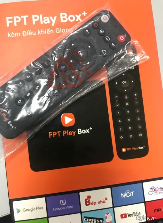 FPT PLAY BOX PLUS + REMOVE VOICE FPT ( hàng zin )