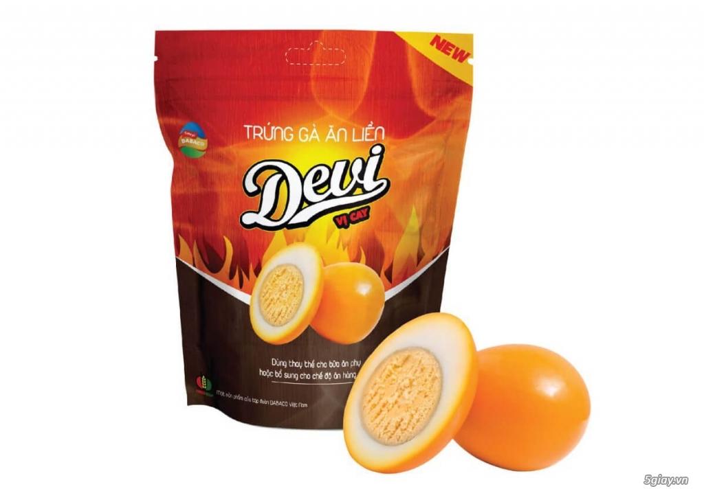 Trứng gà Devi vị cay