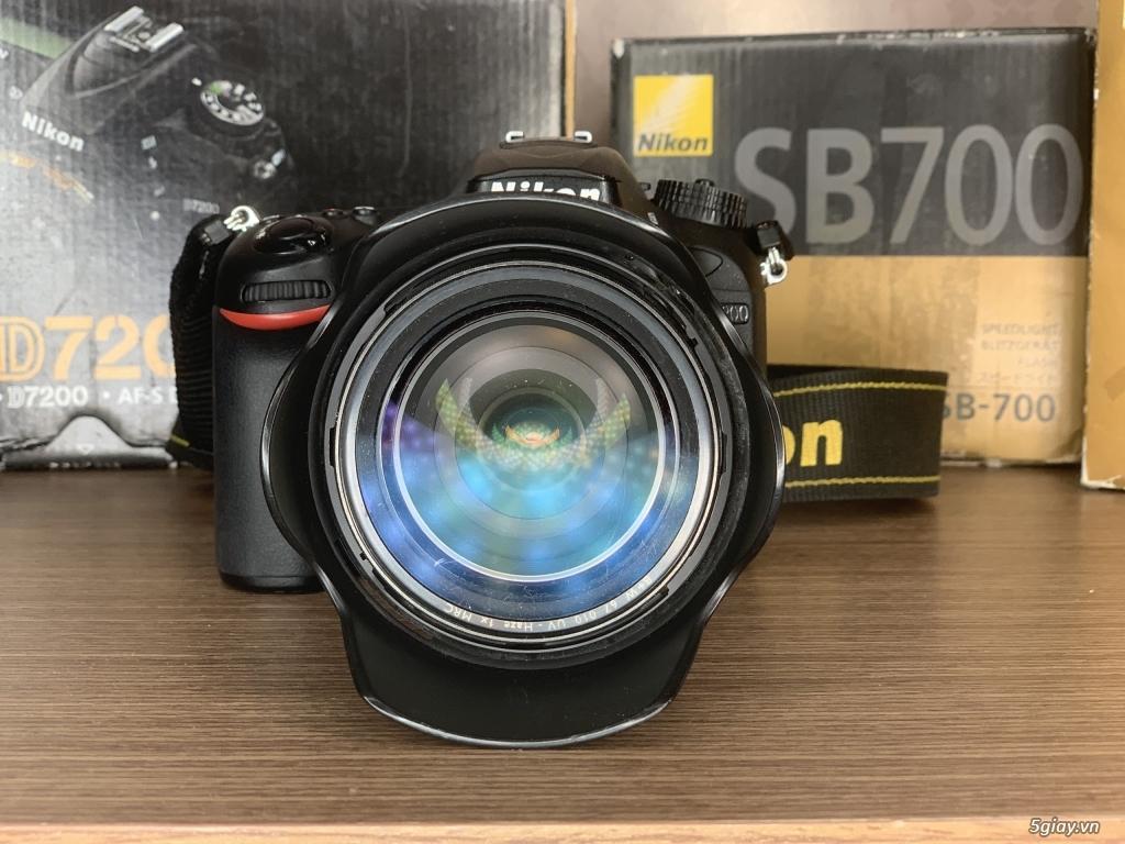 Nikon D7200 + lens 16-85 + đèn SB 700 - 6