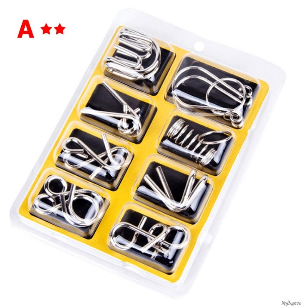 Metal Puzzles - Set 3 bộ x 8 = 24 cái - 2
