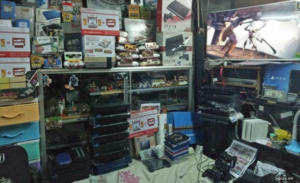 playstation-PS1- PS2- PS3 -PS4-psVITA-PSP-WII-NINTENDO-chuyên PS2 ổ cứng chép game bảo hành 1 đổi 1 - 1