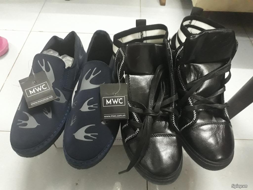 2 đôi giày Nam MWC size 41 new 100% giá yêu thương