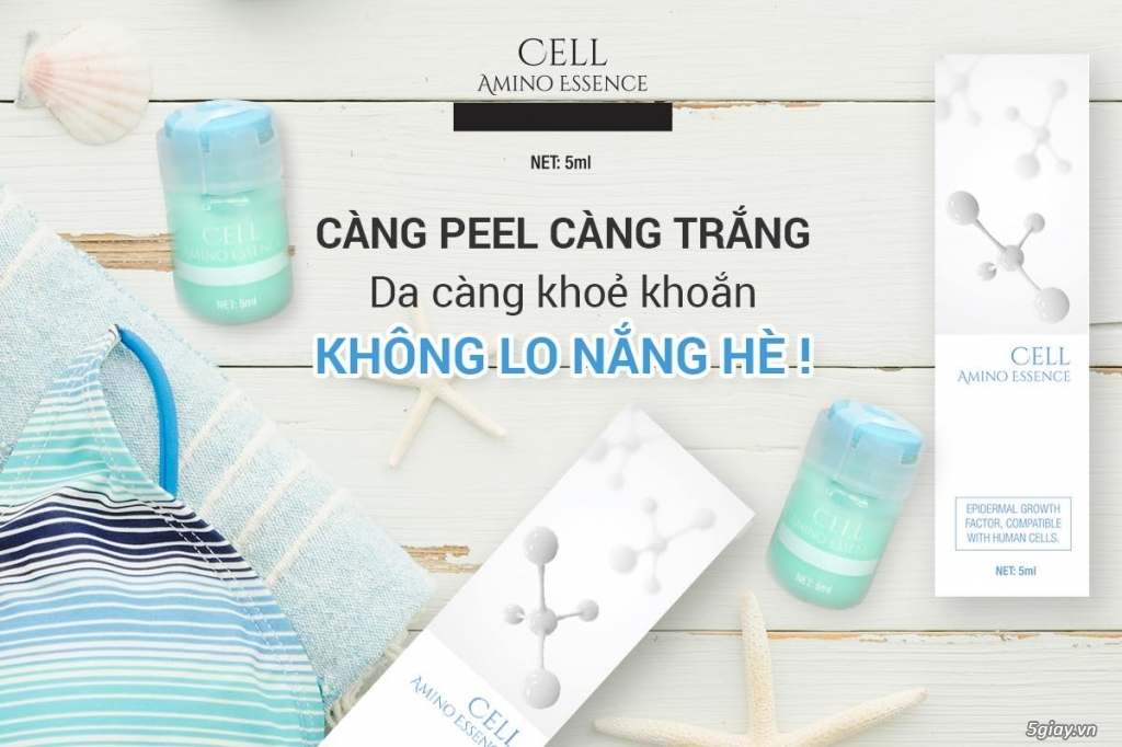CẤY TRẮNG DA CELL AMINO ESSENCE