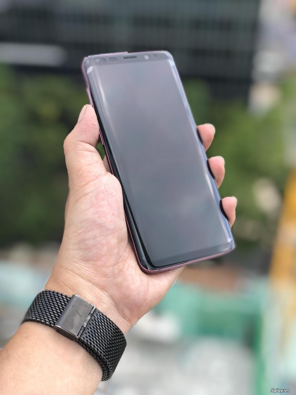 Samsung galaxy S9 Đen & Tím Mỹ Full Box BH 6 Tháng 1 Đổi 1