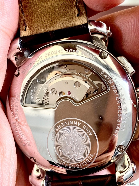 đồng hồ roberto cavalli thụy sỹ máy auto fullbox mới 99% - 3