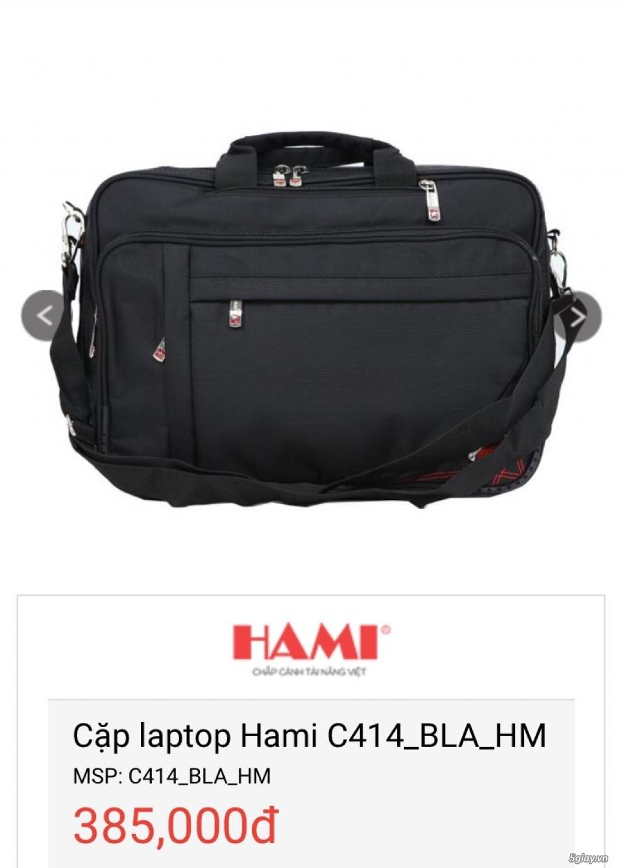Balo Laptop + Túi iPad thương hiệu Hami -50% cho số lượng - 11