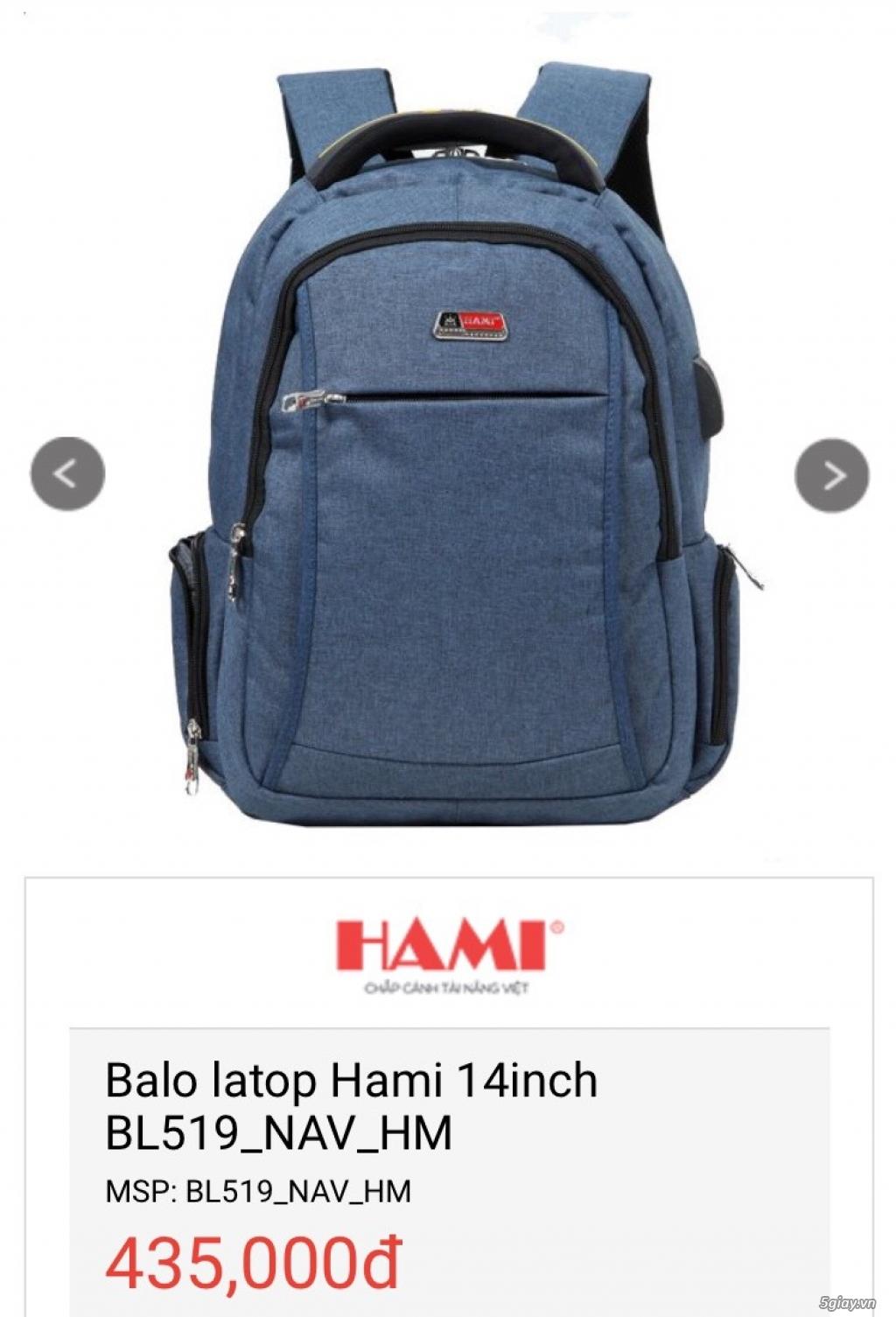Balo Laptop + Túi iPad thương hiệu Hami -50% cho số lượng - 2