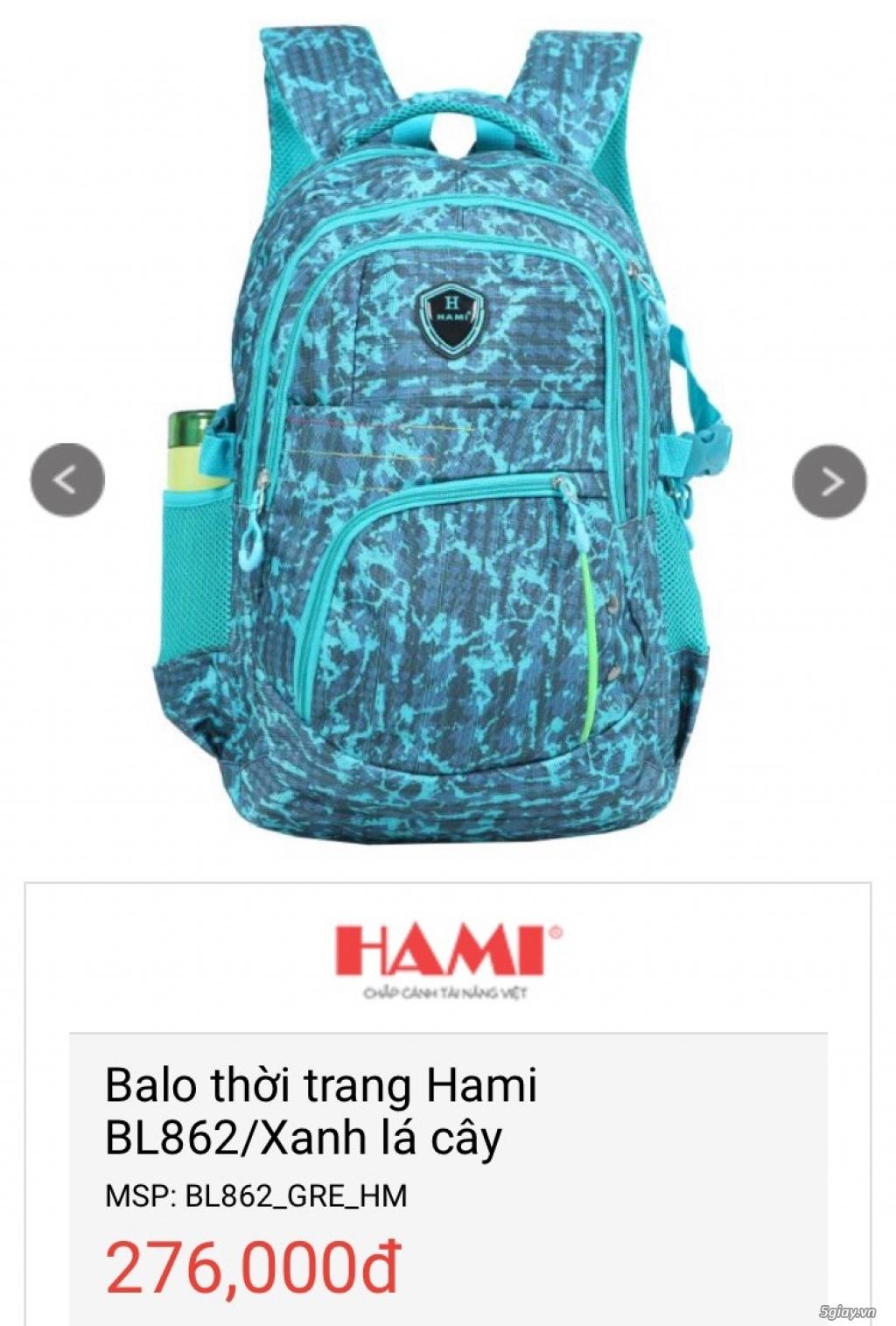 Balo Laptop + Túi iPad thương hiệu Hami -50% cho số lượng - 4