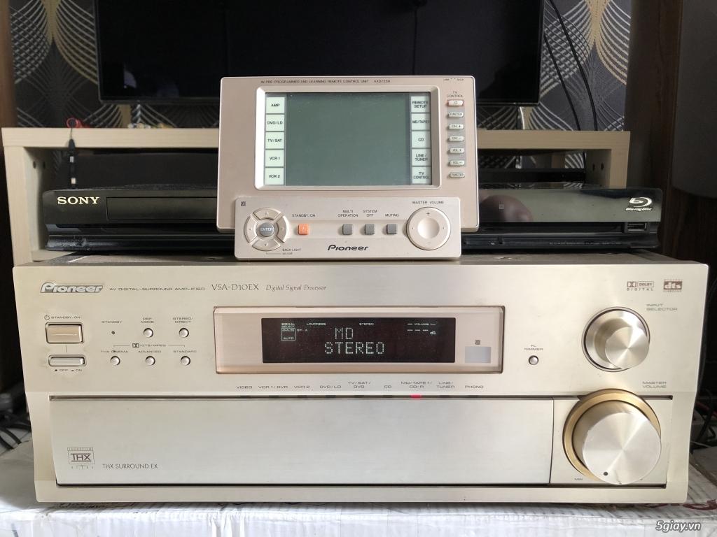 Ampli, CD, receiver, loa, subwoofer, center, surround các loại... - 41