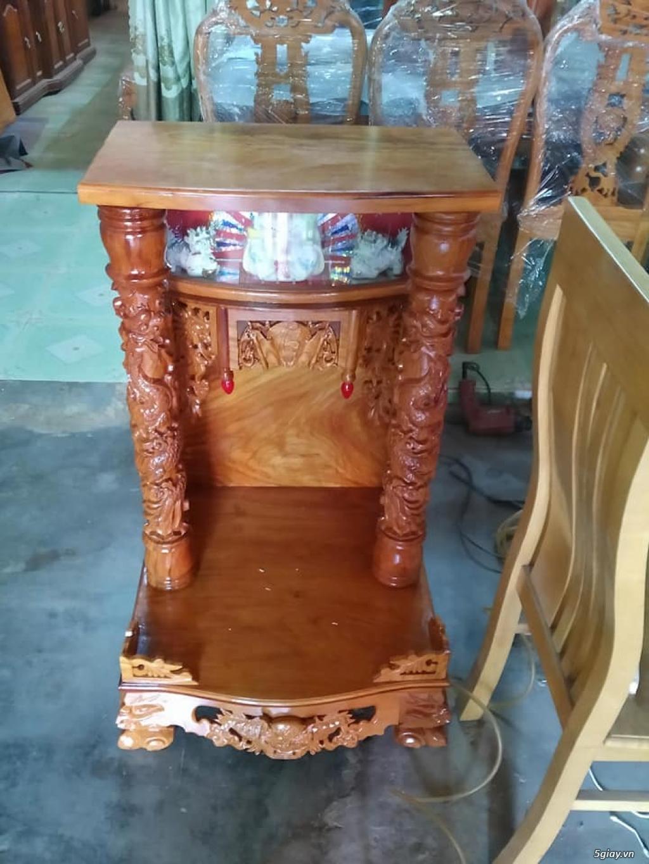 sỉ và lẻ tượng gỗ phong thủy , lục bình , tranh, bàn thờ ông địa ... - 2