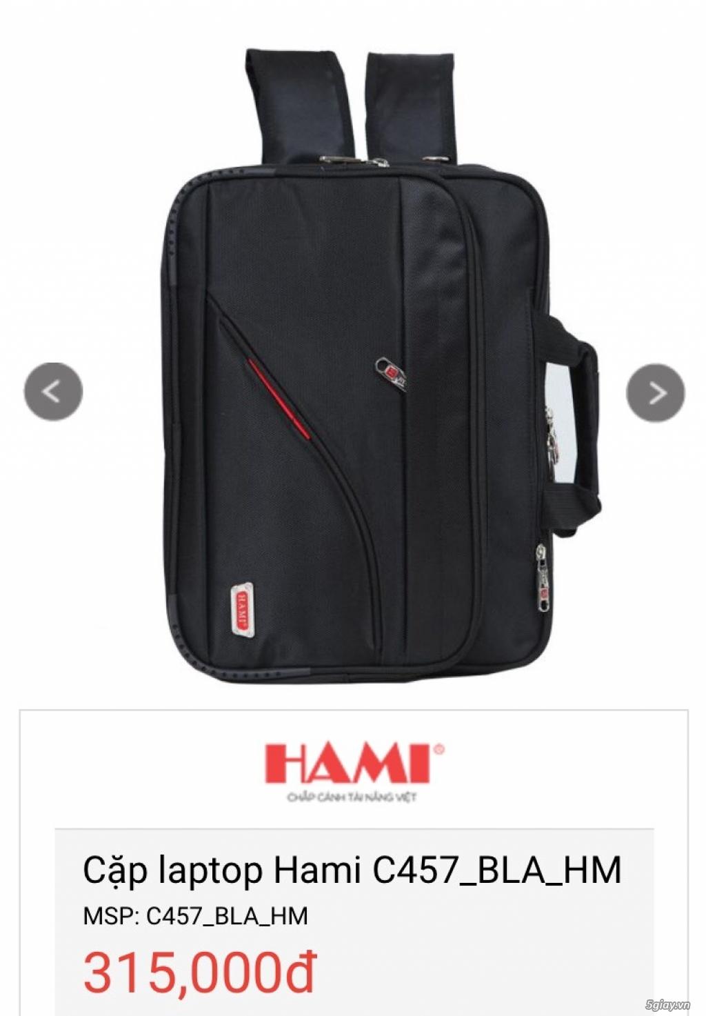 Balo Laptop + Túi iPad thương hiệu Hami -50% cho số lượng - 14