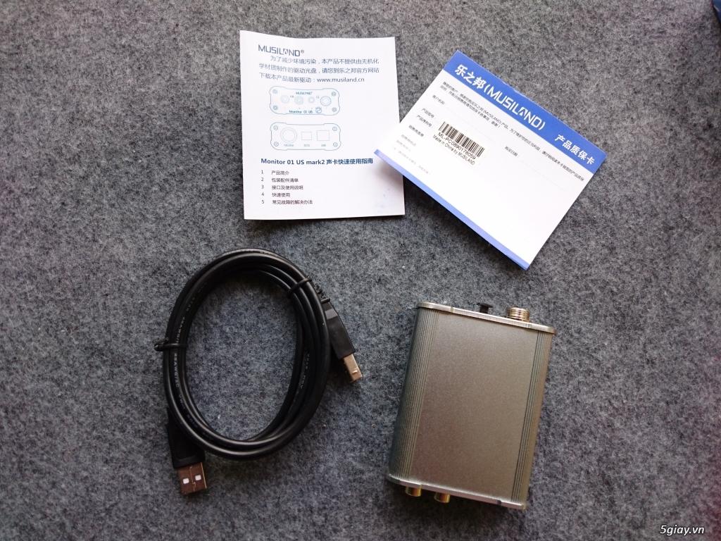Soundcard Musiland Monitor 01 US Mark 2 (USB) - 1