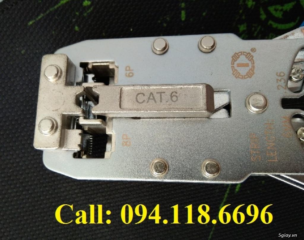 KÌM MẠNG CAT6 TL-2810R BẤM RJ11-RJ45 CAT5/CAT6-Hạt 3 mảnh - 2