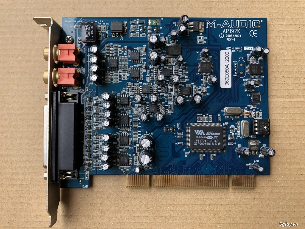 Soundcard M-Audio Audiophile 192 - 3