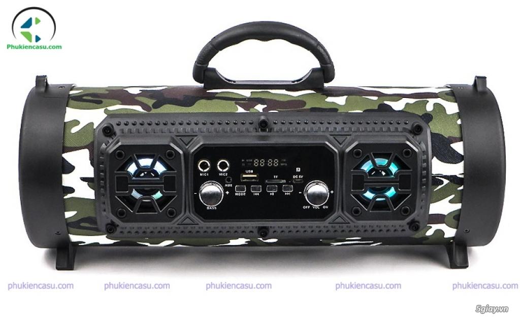 Loa karaoke bluetooth CHM17 loa bluetooth kèm mic - 1