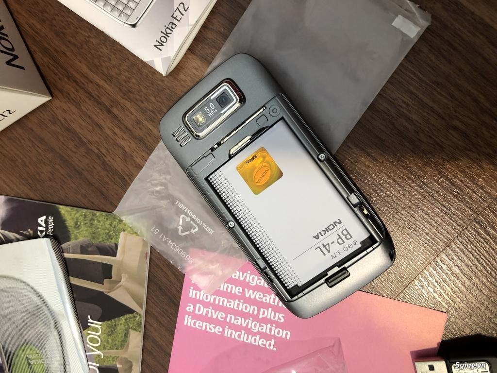 Nokia E72 Grey Brandnew nguyên hộp, ship UK ( England ) chưa qua sd ! - 12