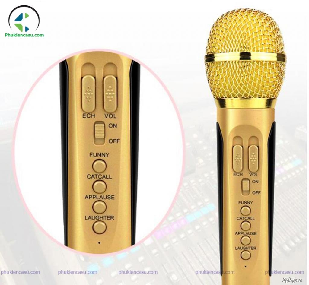 Loa karaoke mini SD306 tặng kèm 2 mic không dây tại phukiencasu.com - 3