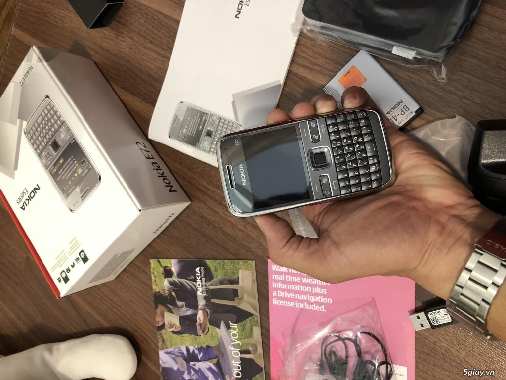 Nokia E72 Grey Brandnew nguyên hộp, ship UK ( England ) chưa qua sd ! - 20