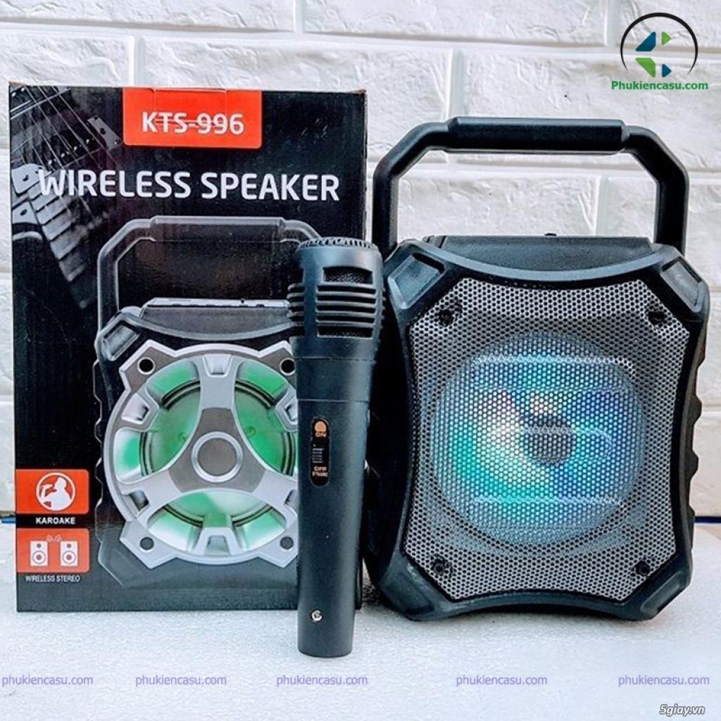 Loa bluetooth karaoke KTS996 loa kèm mic giá rẻ - 1