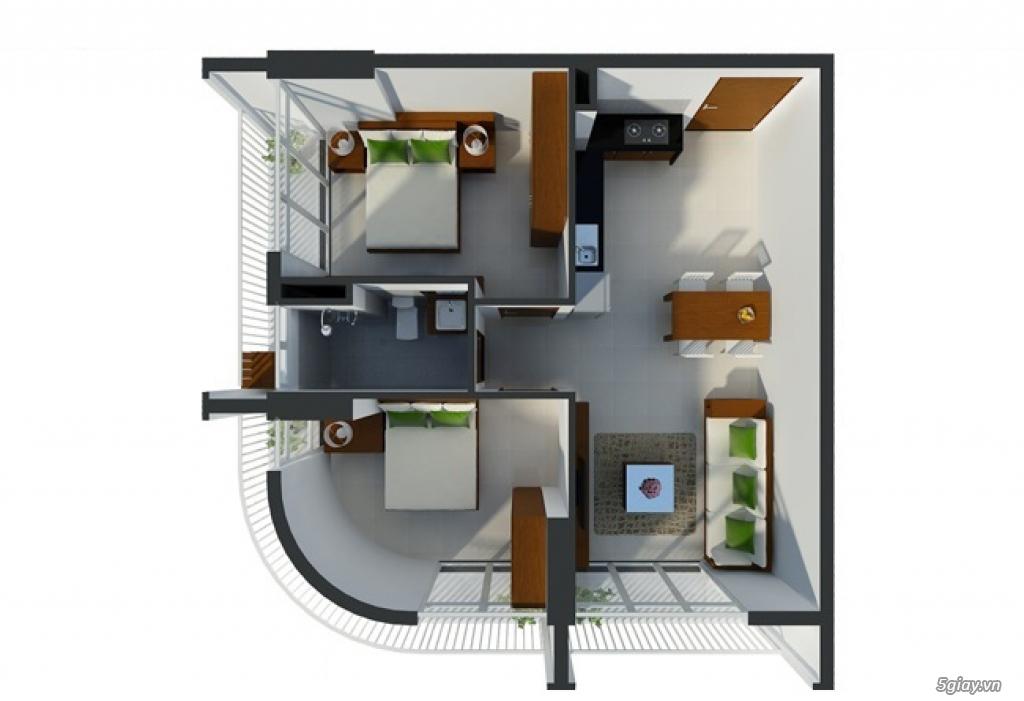 Cho THUÊ: căn hộ 3 phòng mới, yên tĩnh ở Conic Skyway Residence