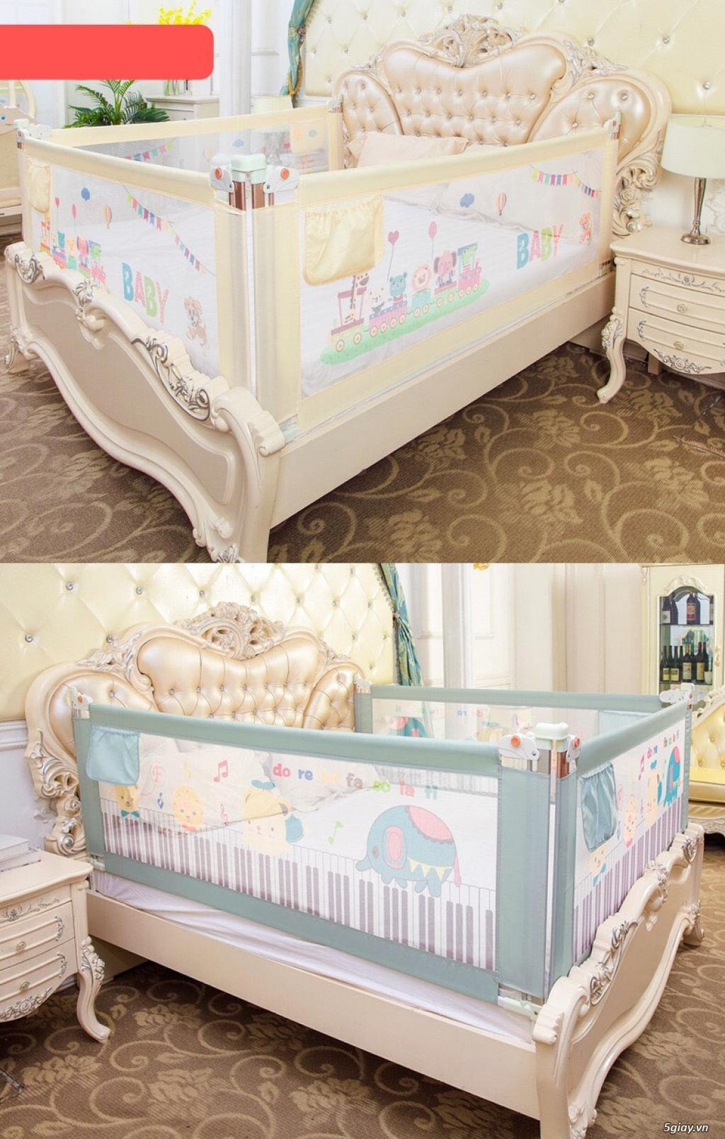 Tấm quây giường an toàn 3B Mart cho trẻ nhỏ - 1