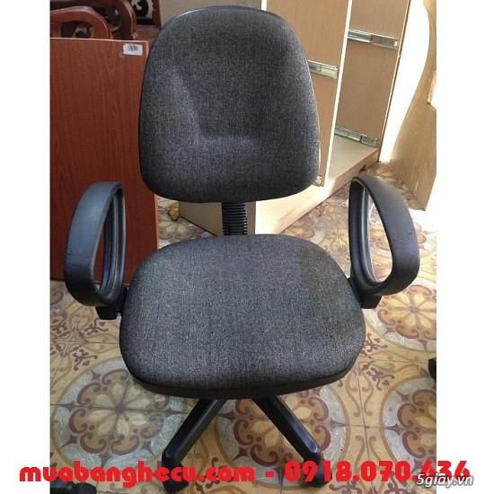 Top 10 mẫu ghế xoay văn phòng cũ thanh lý - 1