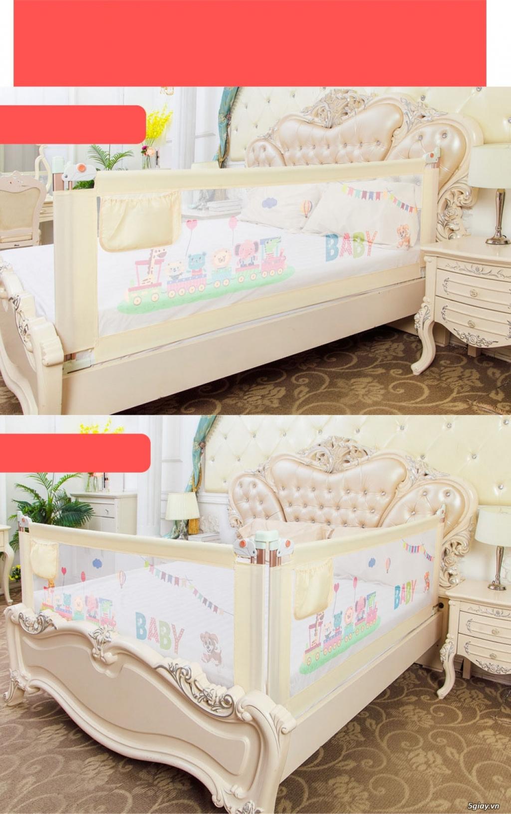 Tấm quây giường an toàn 3B Mart cho trẻ nhỏ - 2