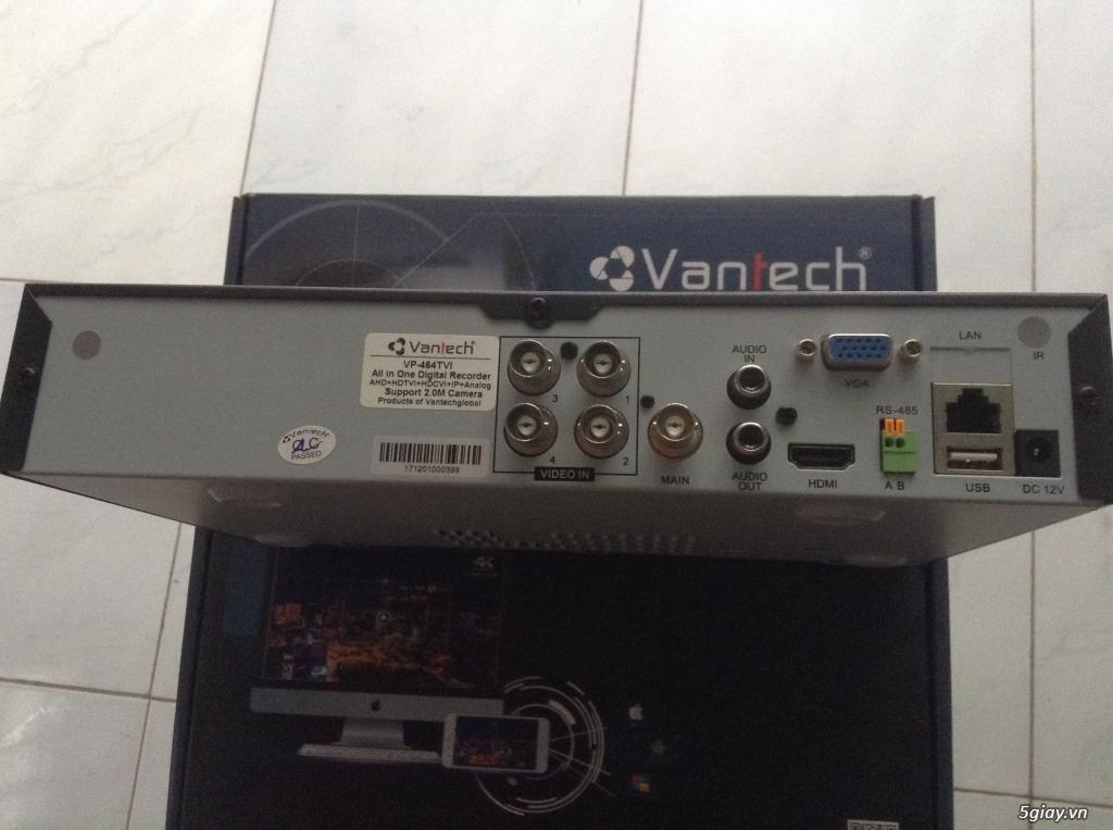 Xả hàng đầu ghi camera vantech 464 TVI full 1080P