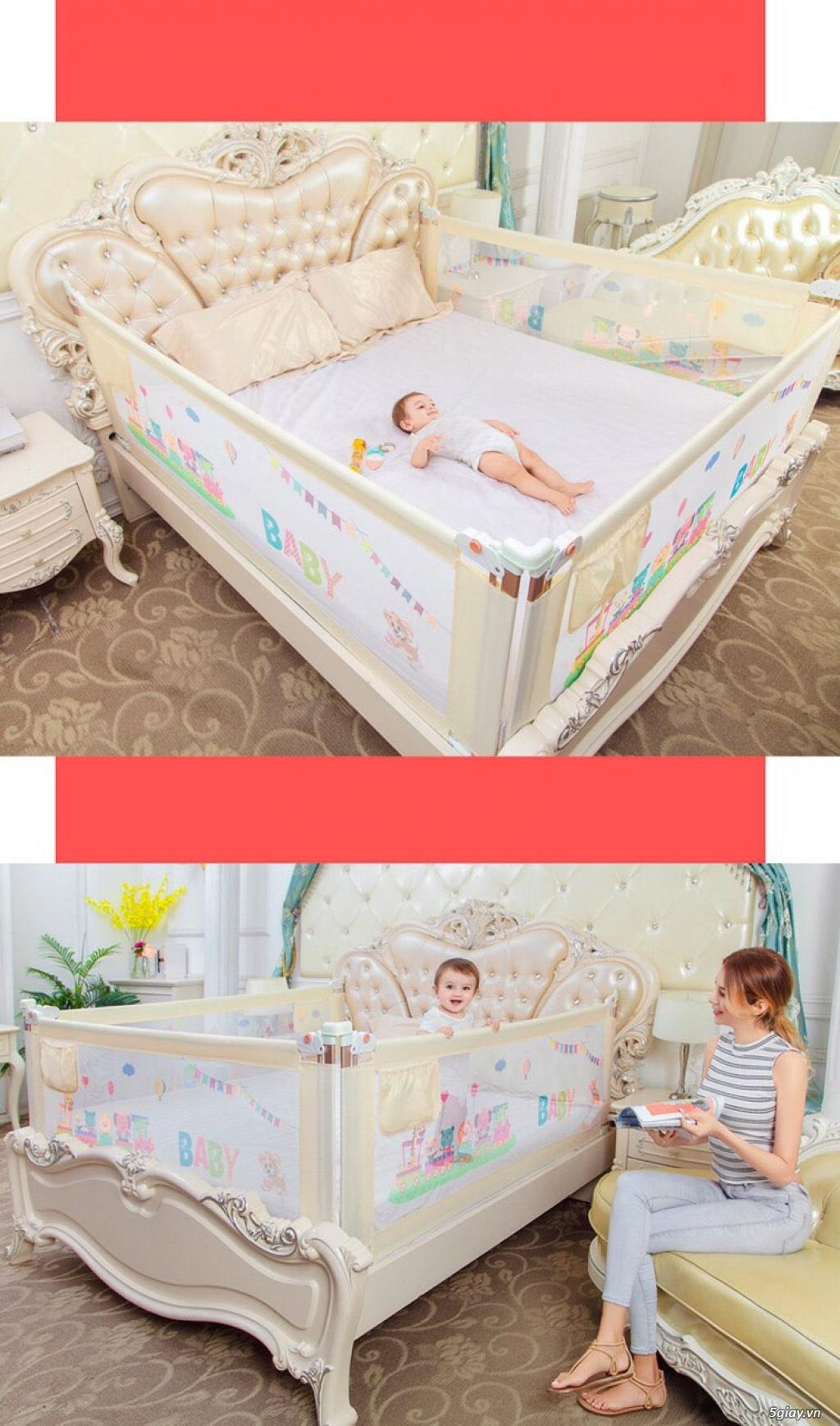 Tấm quây giường an toàn 3B Mart cho trẻ nhỏ