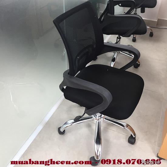 Top 10 mẫu ghế xoay văn phòng cũ thanh lý - 5