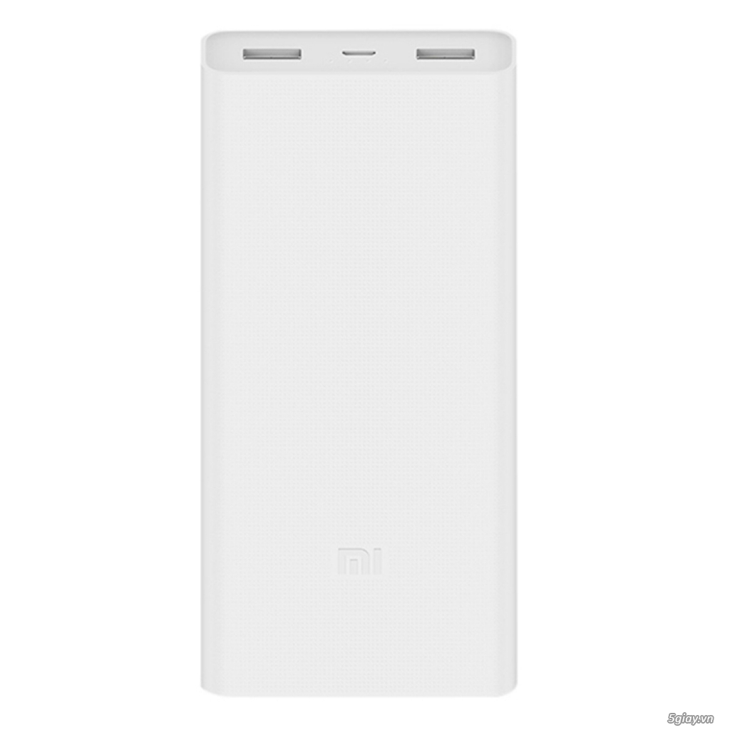 Pin Sạc Dự Phòng Xiaomi Mi 2C 20.000 mAh 2 Cổng USB - Hàng Chính Hãng
