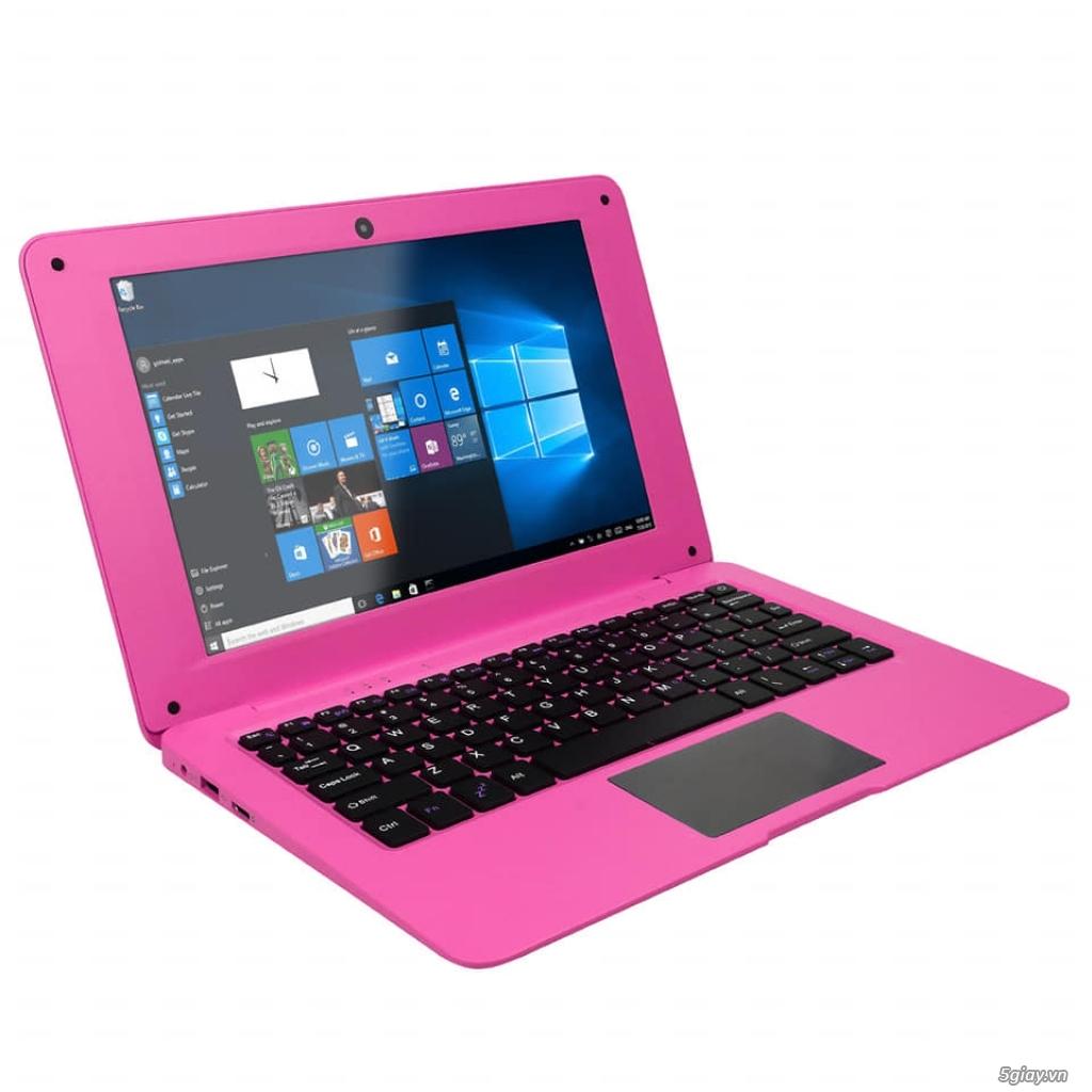 Laptop mini màu hồng rất đẹp. Hàng mới 100%, full box. - 3