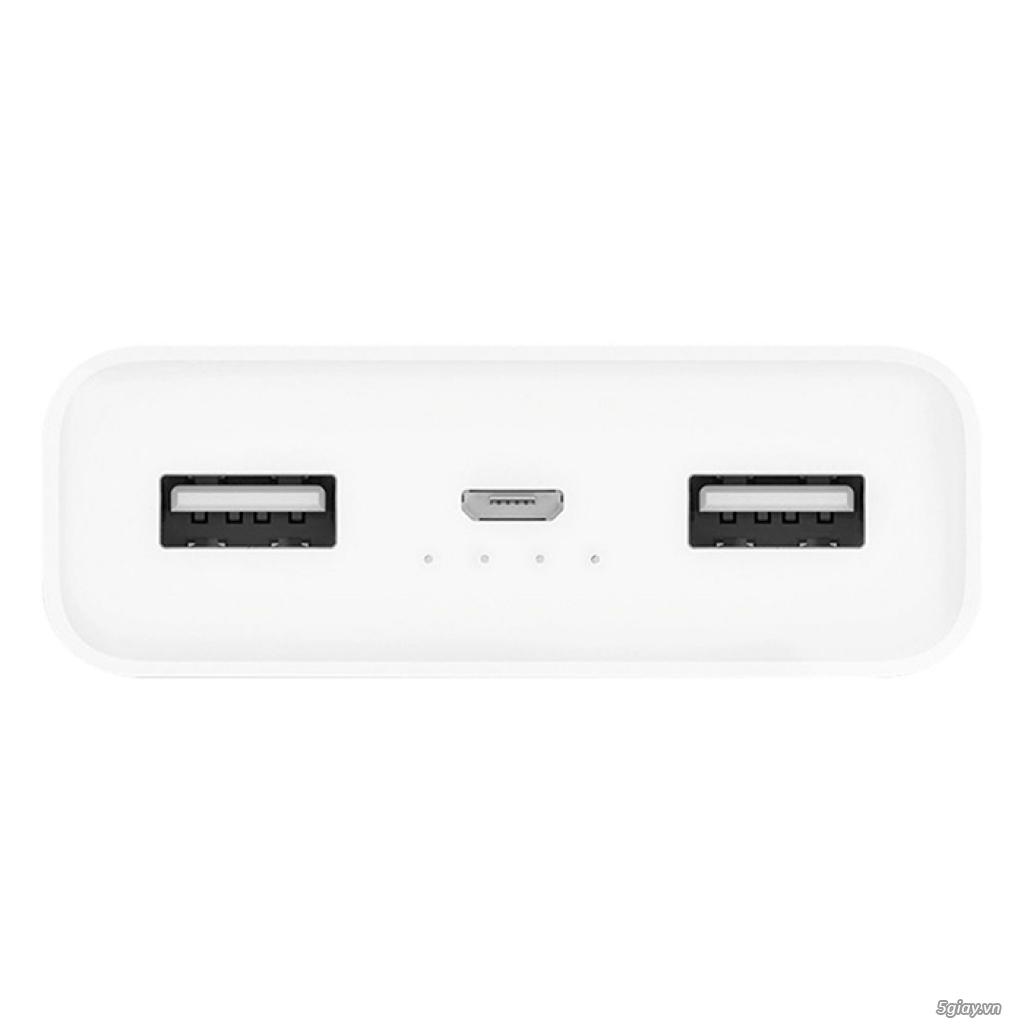 Pin Sạc Dự Phòng Xiaomi Mi 2C 20.000 mAh 2 Cổng USB - Hàng Chính Hãng - 1
