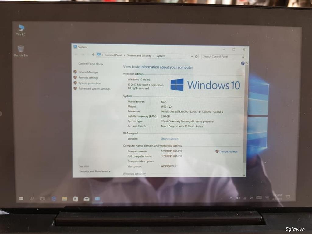 Laptop Mini 10.1inch lai máy tính bảng, hàng mới full box - 1