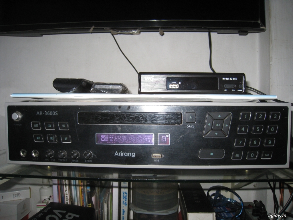 Dư dùng cần bán Đầu Karaoke Arirang DVD AR-3600S (Đen) - 1