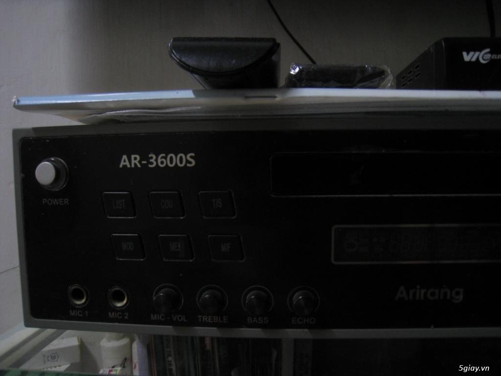 Dư dùng cần bán Đầu Karaoke Arirang DVD AR-3600S (Đen)
