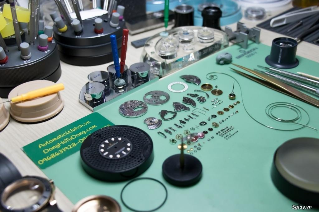 Sửa chữa đồng hồ REPLICA/ Authentic tại HCM [AutomaticWatch.vn]