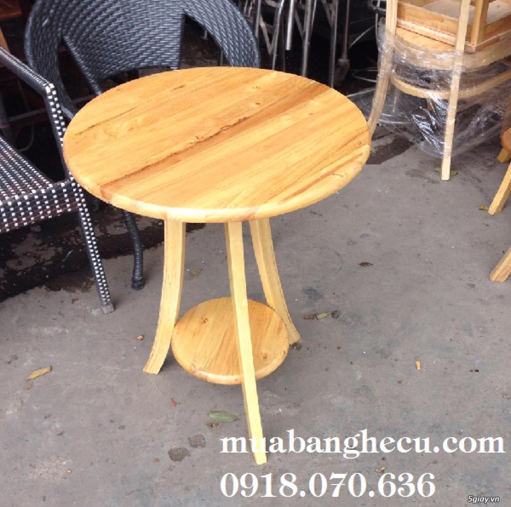 Top 10 mẫu bàn ghế gỗ cũ thanh lý giá rẻ tại TPHCM - 2