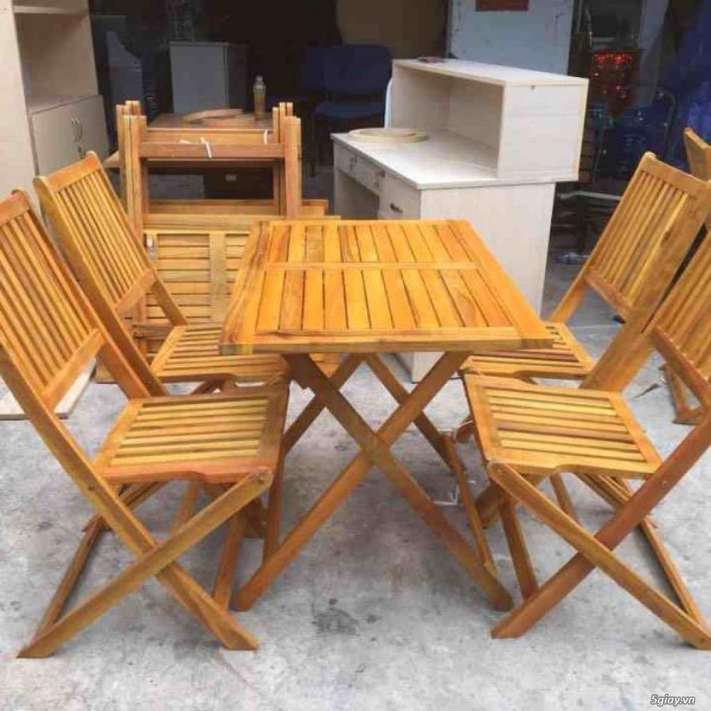 Top 10 mẫu bàn ghế gỗ cũ thanh lý giá rẻ tại TPHCM - 7