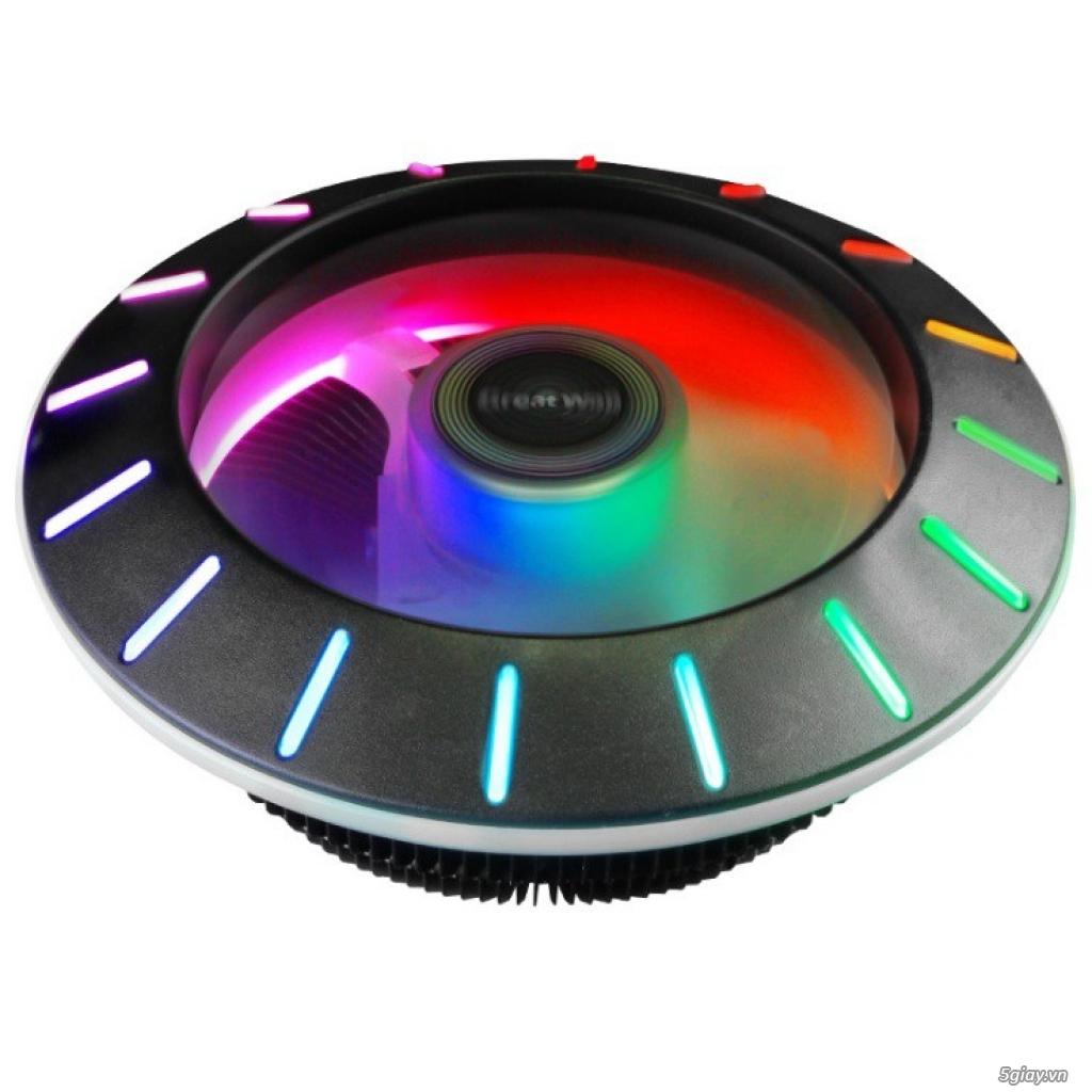 [ Tin Học Hoàng Phát ] Fan LED RGB Giá diêu khuyến mãi tô điểm cho bộ máy bạn - Bảo Hành 1 đổi 1 - 5