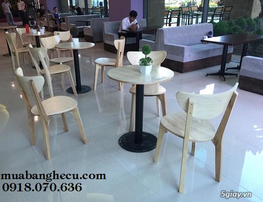Top 10 mẫu bàn ghế gỗ cũ thanh lý giá rẻ tại TPHCM - 9