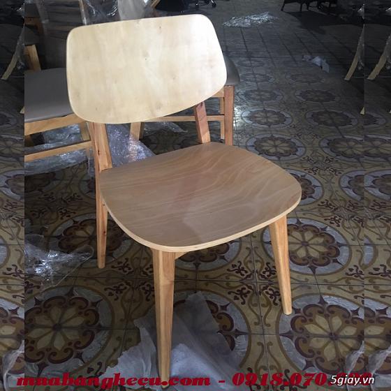 Top 10 mẫu bàn ghế gỗ cũ thanh lý giá rẻ tại TPHCM - 3