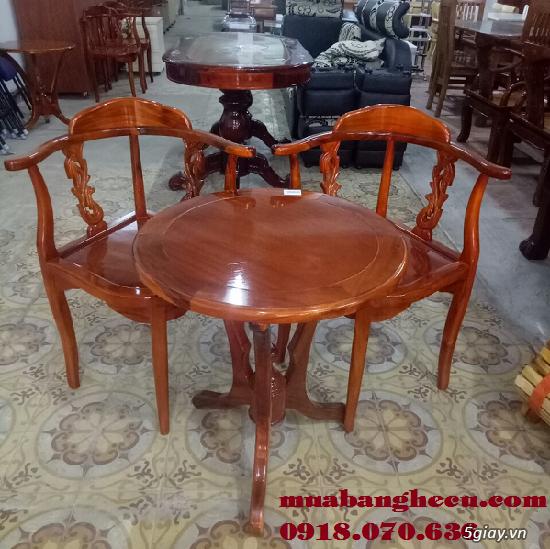 Top 10 mẫu bàn ghế gỗ cũ thanh lý giá rẻ tại TPHCM - 8