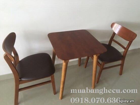 Top 10 mẫu bàn ghế gỗ cũ thanh lý giá rẻ tại TPHCM - 6