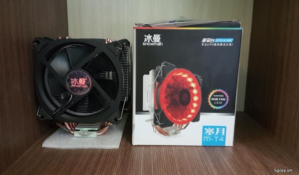 [ Tin Học Hoàng Phát ] Fan LED RGB Giá diêu khuyến mãi tô điểm cho bộ máy bạn - Bảo Hành 1 đổi 1 - 2