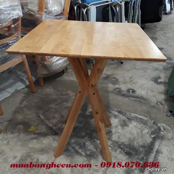 Top 10 mẫu bàn ghế gỗ cũ thanh lý giá rẻ tại TPHCM - 5