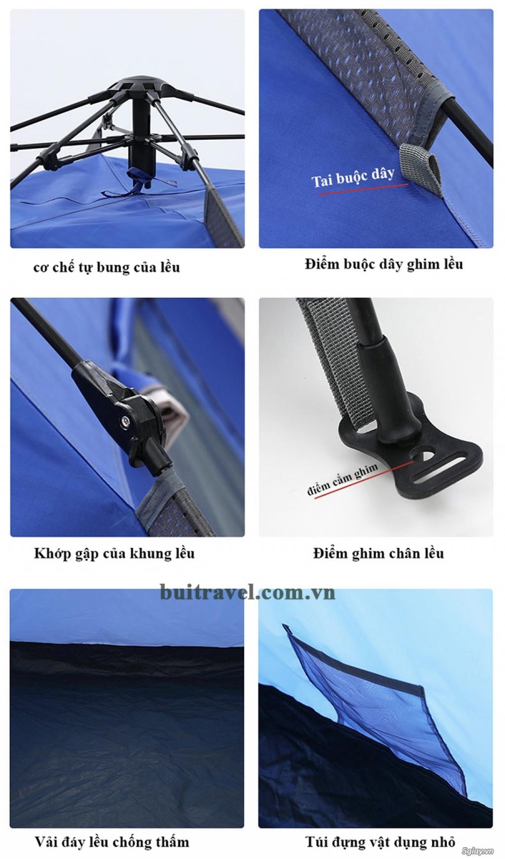Lều cắm trại tự động Gazelle GL1268 - 3