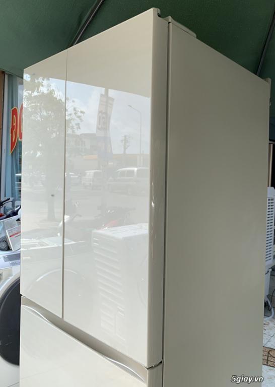 Tủ lạnh TOSHIBA GR-P510FW 508L cửa từ mặt gương hàng trưng bày 2018 - 2