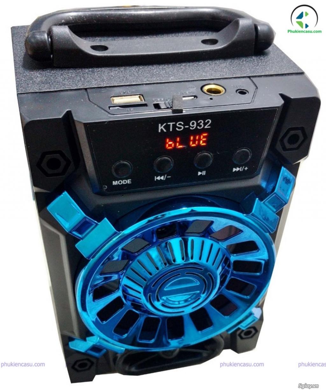 Loa bluetooth karaoke KTS932 loa kèm mic karaoke tại phukiencasu.com - 1