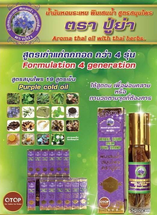 Dầu Lăn Thảo Dược Thái Lan - Giá Sỉ tốt - 3
